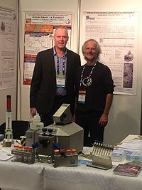 Erich Gnaiger and Nigel K Stepto at Research to Practice 2016 in Melbourne